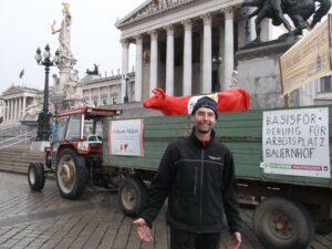 Hinterplattner Johann,Demo Wien