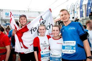 Linz Marathon Bernhard und Helene